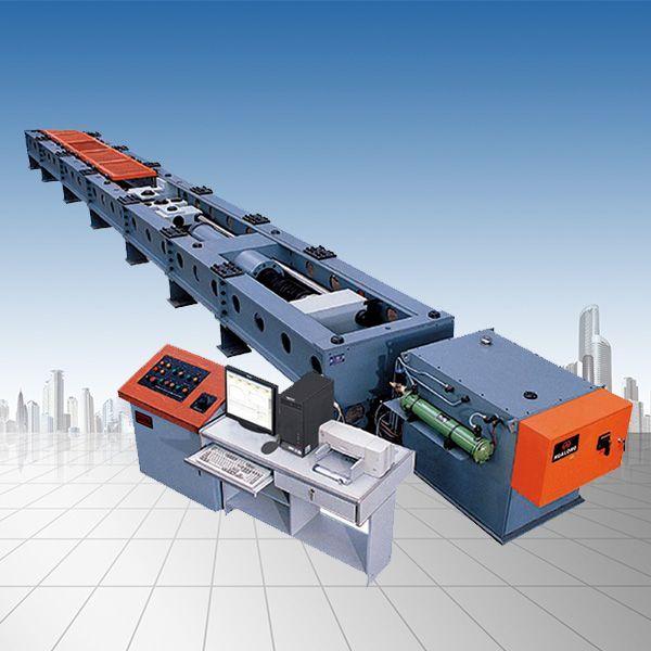 风电行业用双头螺栓卧式拉力试验机