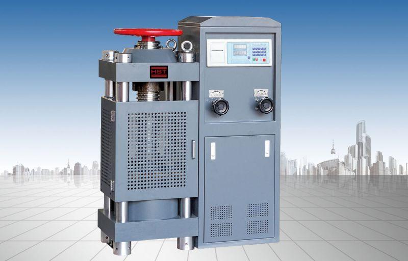30吨数显水泥胶砂红砖专用液压压力试验机