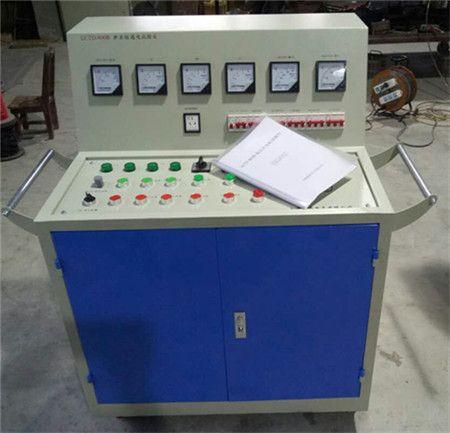 高低压开关柜通电试验台对所生产的高低压开关柜进行出厂前的各项通电试验
